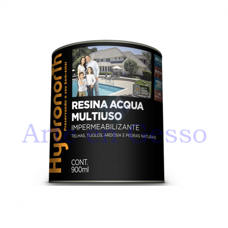 RESINA ACQUA MULTIUSO INCOLOR - 900ml