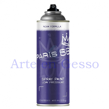 TINTA SPRAY PARIS 68 PRETO RIBEIRAO PRETO - 400 ML