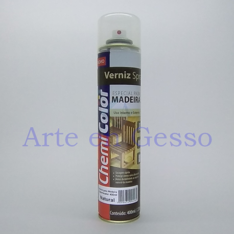 SPRAY VERNIZ MADEIRA NATURAL - 400 ml